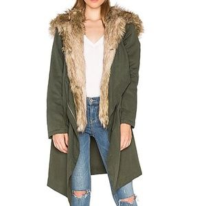 BB DAKOTA Gerrard Faux Fur Coat Vest